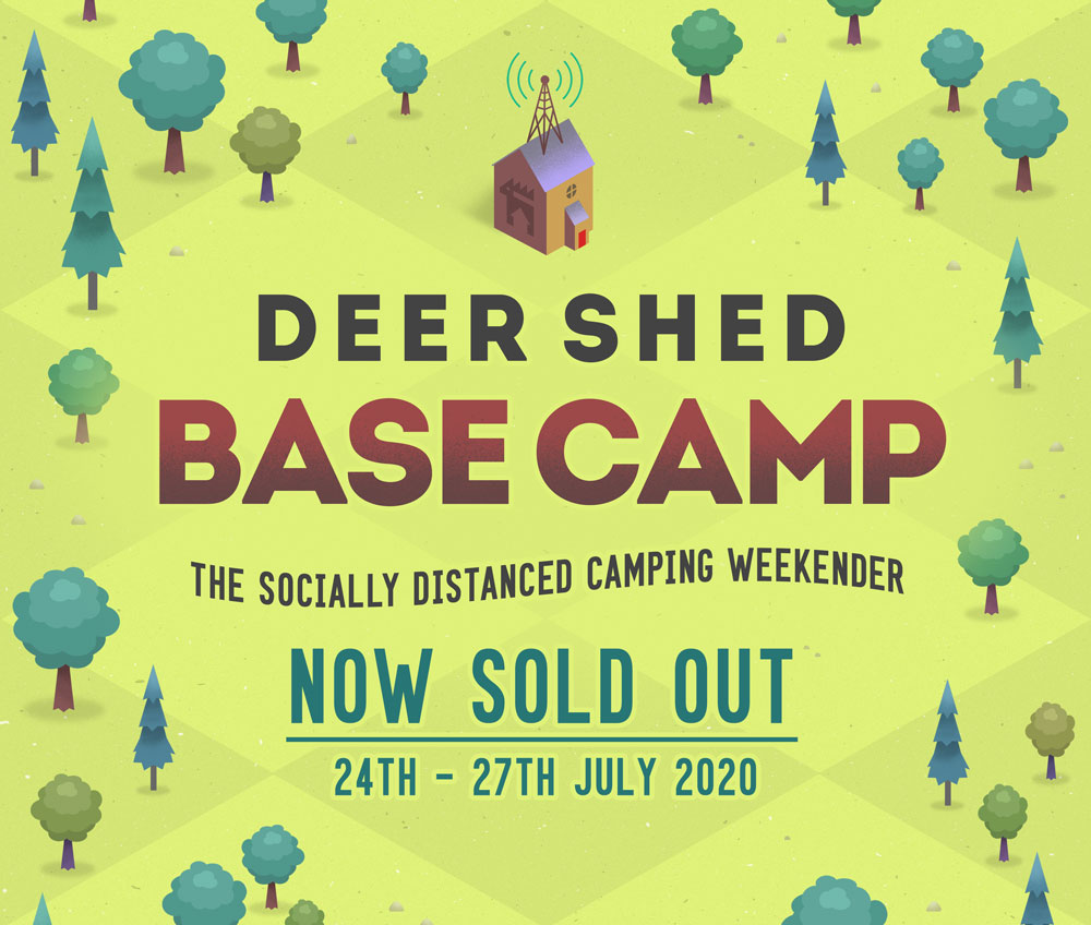 Deer Shed Base Camp Poster