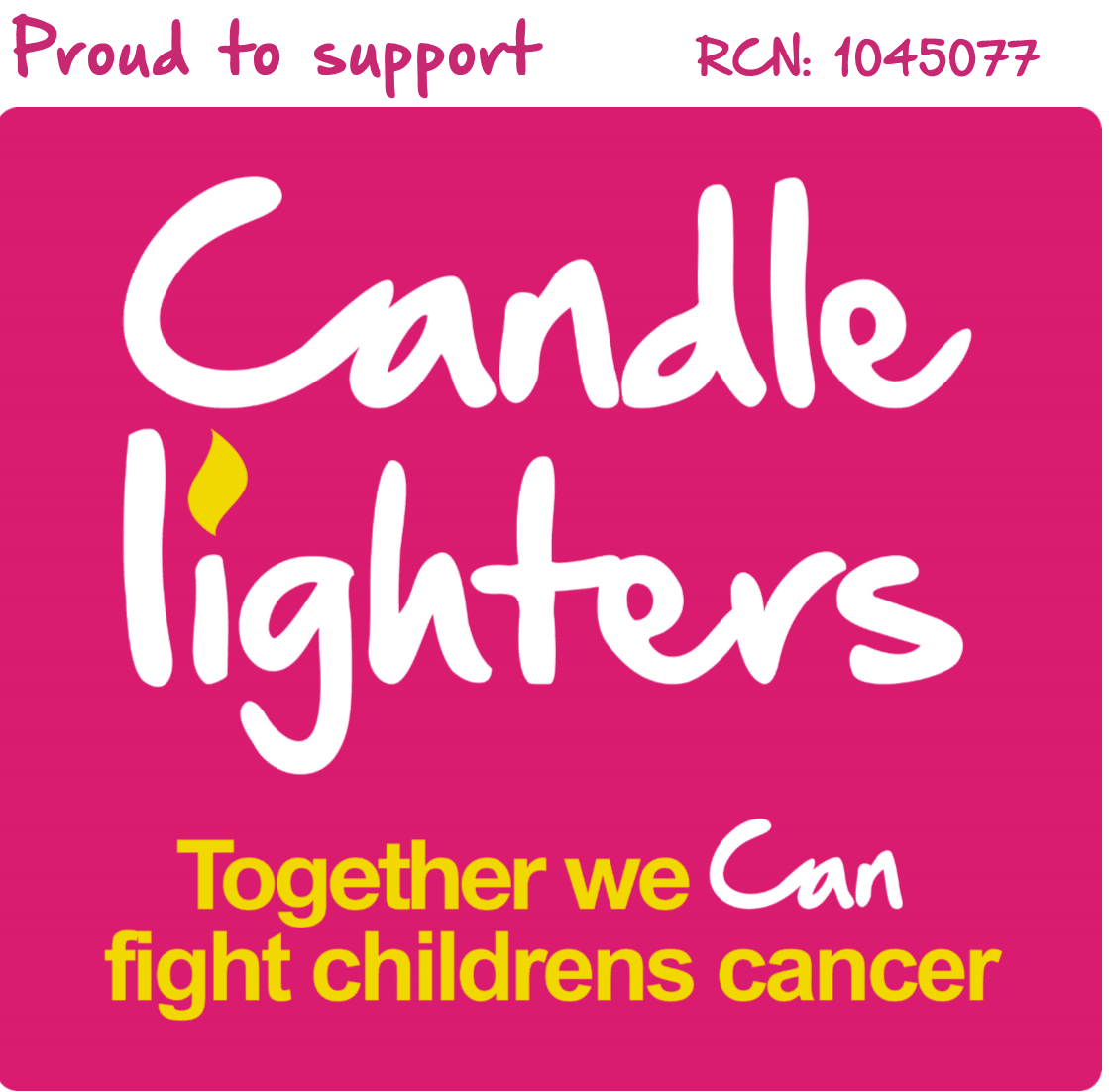 Candlelighters official charity of 2021